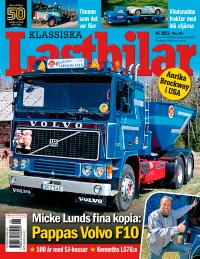 Tidningsetta Klassiska Lastbilar