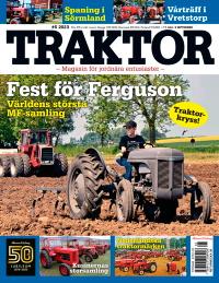 Tidningsetta Traktor