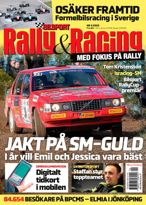 Bilport Rally&Racing omslag