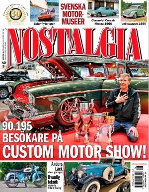 Nostalgia Magazine omslag