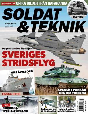 Soldat & Teknik omslag