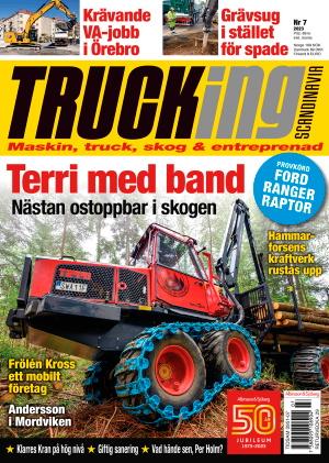 Trucking omslag
