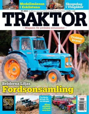 Traktor omslag