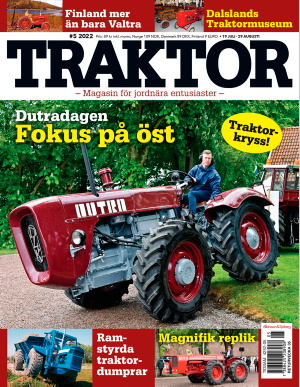 Traktors omslag
